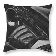 Concours At Dusk 1935 Auburn Speedster Throw Pillow
