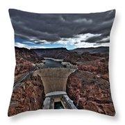 Concrete Canyon Throw Pillow