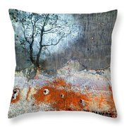 Concrete Gardens Throw Pillow