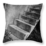 Concrete Steps Throw Pillow
