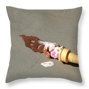 Cone Death  Throw Pillow