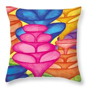 Cone Forest Throw Pillow