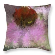 Cone Of Beauty Art Throw Pillow