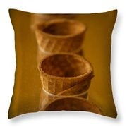 Cones On Display Throw Pillow