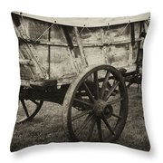 Conestoga Wagon Throw Pillow