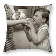Coney Island, 1938 Throw Pillow