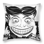 Coney Smile Throw Pillow