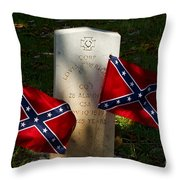 Confederate Grave   #2831 Throw Pillow