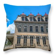 Charleston Confederate Home Throw Pillow