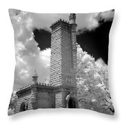 Confederate Resting Place Throw Pillow