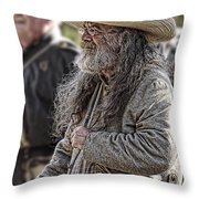 Confederate Soldier Throw Pillow