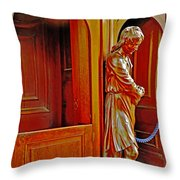 Confessional Halo Throw Pillow