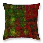 Confetti - Abstract - Fractal Art Throw Pillow