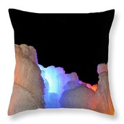 Confetti Colors Throw Pillow