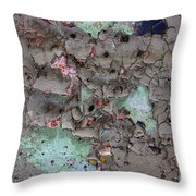 Confetti Graffiti Throw Pillow
