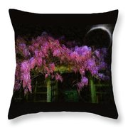 Confetti Of Blossoms Throw Pillow