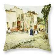 Confirmation Day Throw Pillow by Childe Hassam