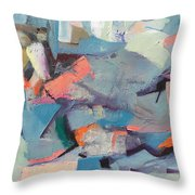Conflict Of Interest Throw Pillow