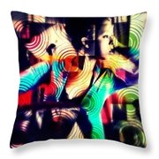 Confounded  Throw Pillow