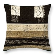 Confrontations Throw Pillow