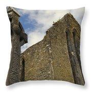 Cong Abbey, Ireland Throw Pillow