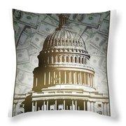 Congress-2 Throw Pillow
