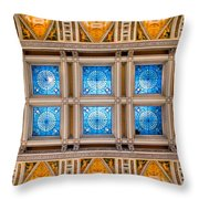 Congress Art Throw Pillow by Greg Fortier