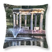 Congress Park Throw Pillow