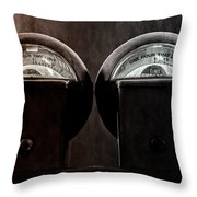 Conjoined Twins Throw Pillow