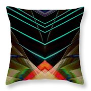 Connected In The Dark Throw Pillow