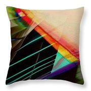 Connected In The Dark2 Throw Pillow