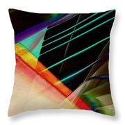 Connected In The Dark3 Throw Pillow