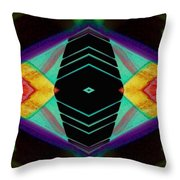 Connected In The Dark4 Throw Pillow