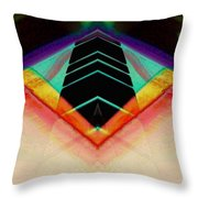 Connected In The Dark6 Throw Pillow