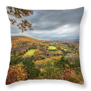 Connecticut Country Throw Pillow