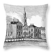 Connecticut Middletown Throw Pillow