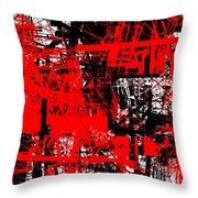 Connection 19 Throw Pillow