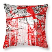 Connection 21 Throw Pillow