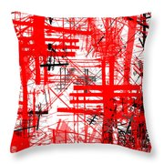 Connection 46 Throw Pillow