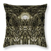 Connections 7 Throw Pillow