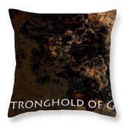 Connor - Stronghold Of God Throw Pillow