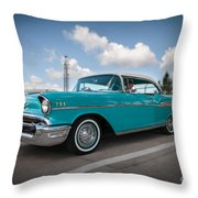 conrictrice 56 Chevy Throw Pillow