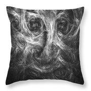 Conscience 01 Throw Pillow
