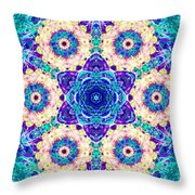 Conscious Explosion Throw Pillow
