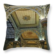 Conservatory Illuminated Ceiling Throw Pillow