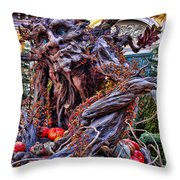 Conservatory Decoration  Fall 2007 Throw Pillow