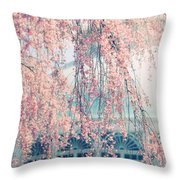 Conservatory  In Spring Throw Pillow
