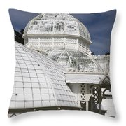 Conservatory Of Flowers Gate Park Throw Pillow