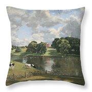 Constable's Wivenhoe Park In Essex Throw Pillow