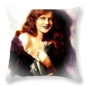 Constance Binney Throw Pillow